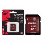 Cart�o de Mem�ria Kingston Classe 10 UHS-I U3 Ultimate 64GB SDA3-64GB