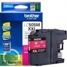 Cartucho de Tinta Brother 505M de Ultra Rendimento - Magenta