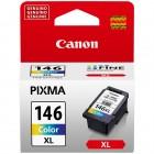 Cartucho de Tinta Canon CL-146XL Colorido - Alto Rendimento