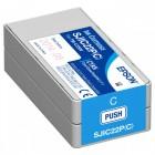 Cartucho Epson SJIC22P Ciano - C33S020581