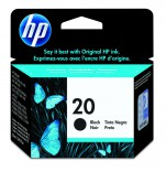 Cartucho HP 20 Preto 28ml C6614D