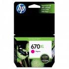 Cartucho HP 670XL Magenta 7,5 ml CZ119AB