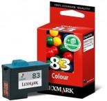 Cartucho Lexmark 83 Colorido 14,5 ml 18L0042