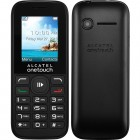 Celular Alcatel One Touch OT1050 Preto,  Dual Chip, Tela 1.8