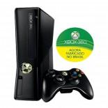 Console Oficial Microsoft XBOX 360, 4GB - Preto + Controle Wireless