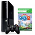 Console Oficial Microsoft Xbox 360, 4GB - Preto + Game Peggle 2 + Controle Sem Fio