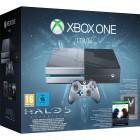 Console Oficial Microsoft Xbox One 1TB Edição Especial Halo 5: Guardians + Headset + Controle + Jogo