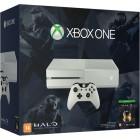 Console Oficial Microsoft Xbox One 500GB Edição Branca Especial Halo: Master Chief Collection