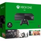 Console Xbox One 1TB + Jogos Tom Clancy´s Rainbow Six Siege, Rainbow Six Vegas, Rainbow Six Vegas 2