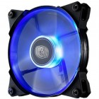 Cooler Megaflow 200 Silent Fan Cooler Master, 200mm, 700 RPM, Led Azul - R4-LUS-07AB-GP