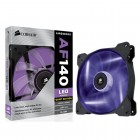 Cooler para Gabinete Corsair AF140 Quiet Edition com Led. 140MM. CO-9050017-PLED - Roxo