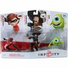 Disney Infinity 1.0 Pack com 3 personagens Coadjuvantes