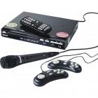 DVD Player Amvox AMD-909 com DVD, USB, Função Karaokê, Função Game + 2 Joysticks - Bivolt