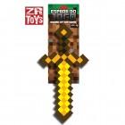 Espada do Jogo Minecraft Ouro - ZR Toys