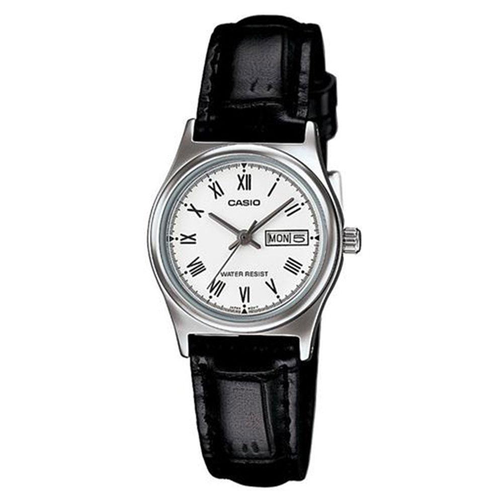 Relógio Feminino Analógico Casio LTP-V006L-7BUDF - Preto