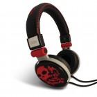 Fone de Ouvido com fio e microfone OEX HP-101 Preto e Vermelho