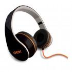 Fone de Ouvido OEX Sense HP-100 - Preto, Dobrável, Com Fio e Microfone