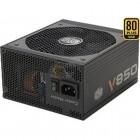 Fonte Cooler Master V850 80 Plus Gold 850W, 12V, 110/220V, Sem Cabo De Forca - RS850-AFBAG1-WO