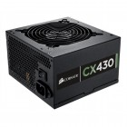Fonte Corsair CX430 80 Plus Bronze 430W, 12V, 110/220V, Sem Cabo De Forca
