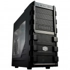 Gabinete Gamer Cooler Master HAF 912 Plus  Mid Tower RC-912-KWN2 - Preto, Sem Fonte