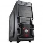 Gabinete Gamer Cooler Master K380 Mid Tower RC-K380-KWN1 - Preto, Sem Fonte