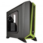 Gabinete Gamer Corsair Carbide Series Spec Alpha, Mid Tower, CC-9011102-WW - Preto/Verde, Sem Fonte
