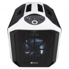 Gabinete Gamer Corsair Graphite 380T Portatil, Mini ITX, CC-9011060-WW - Branco, Sem Fonte