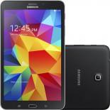 Galaxy Tab 4 Samsung SM-T330N Preto - Wi-Fi, Tela 8 Android 4.4, Quad Core, Mem 16GB, Câmera 3MP