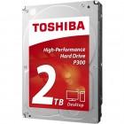 HD Interno Para Desktop Toshiba P300, HDWD120XZSTA, 2 TB, SATA III 6Gb/s, 7200 RPM