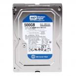 HD Interno Western Digital Para Desktop - 500GB, Sata III, 7200 RPM, 16 MB Cache WD5000AAKX