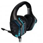 Headset Gamer Logitech G633 Artemis Spectrum Preto e Azul - USB