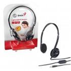 Headset Genius HS-M200C Preto - Ajustável