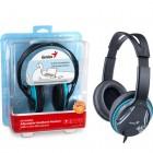 Headset Genius HS-M400A Preto e Azul - Ajust�vel