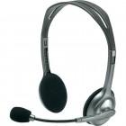 Headset Logitech H110 Prata - PS/2 com Microfone