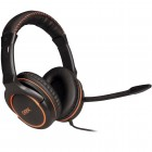 Headset OEX Ultimate HS-402 USB: Preto e Laranja - Para PC/Mac/Xbox One/Xbox 360/PS4/PS3