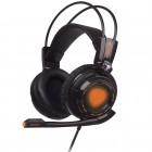 Headset PRO Game OEX Extremor HS-400 com função vibra Preto