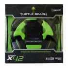 Headset Turtle Beach Ear Force X42: Preto e Verde - Para Xbox360/PC