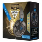 Headset Turtle Beach Recon 50P: Preto e Azul - Para PS4/Xbox One/PC/Mac
