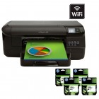 Impressora HP Officejet Pro 8100DWN Jato de Tinta + 4 Cartuchos de Tinta Preta HP Officejet 950XL