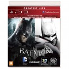 Jogo Batman Arkham Asylum + Batman Arkham City - PS3