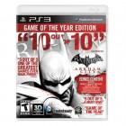 Jogo Batman Arkham City: Goty Edition PS3
