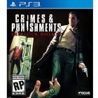 Jogo Crimes and Punishment - Sherlock Holmes - PS3