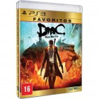 Jogo DMC Devil May Cry Favoritos - PS3