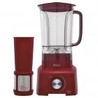 Liquidificador Philco PH900, 12 Velocidades + Pulsar, 900W, 110V - Vermelho, Com Filtro