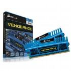 Memória Desktop Gamer DDR3 Corsair Vengeance CMZ16GX3M2A1600C10B, 16GB Kit (2X8) 1600MHZ, DIMM, CL10