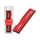 Memória HyperX FURY DDR3 4GB Vermelho, 1600Mhz, CL10, HX316C10FR/4