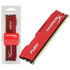 Mem�ria HyperX FURY DDR3 4GB Vermelho, 1866Mhz, CL10, HX318C10FR/4
