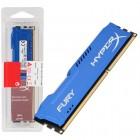 Mem�ria HyperX FURY DDR3 8GB Azul, 1600Mhz, CL10, HX316C10F/8