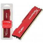 Memória HyperX FURY DDR3 8GB Vermelho, 1600Mhz, CL10, HX316C10FR/8
