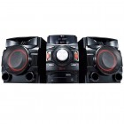 Mini System LG CM4450 Preto - CD, Duplo USB, Multi Bluetooth, Efeito DJ, Bass Blast - 440W